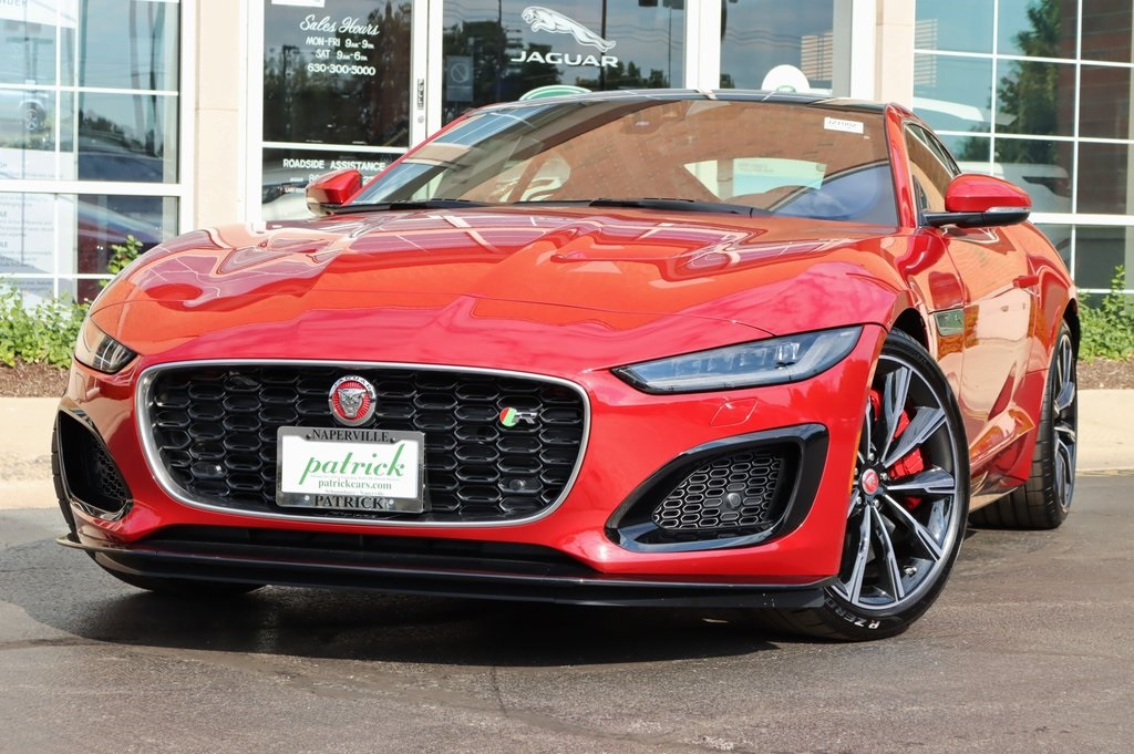 New 2021 Jaguar F-TYPE R Coupe 575HP AWD